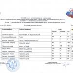 Итоговый протокол Кубок 17-1